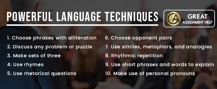 Top language techniques one should know