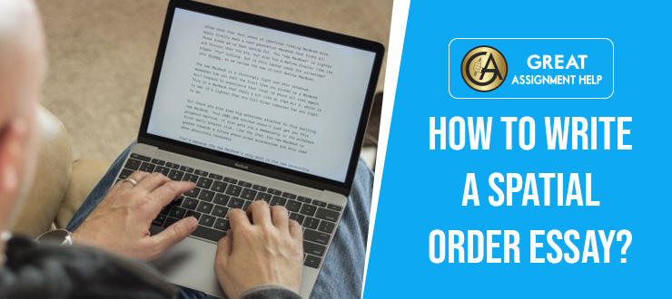 Essay using spatial order