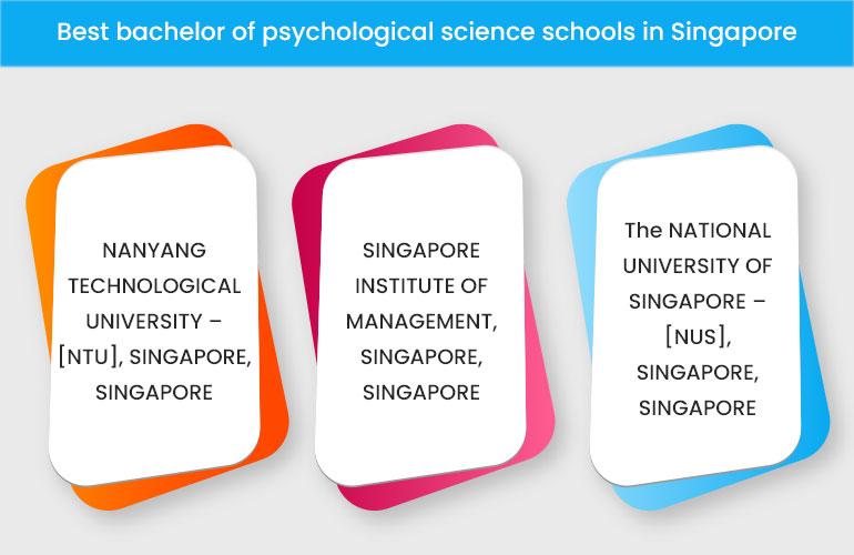 Best bachelor of psychological science